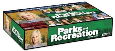 Parks and Recreation Press Pass 2013 Factory Sealed Trading Hob Box
