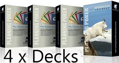 Mountain Goat Software Planning Poker(16 Player Pack)