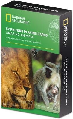 That Company Called IF National Geographic 52 Picture Playing Cards - Amazing Animals