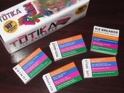 Open Spaces, LLC Totika Set (Five Decks Included)