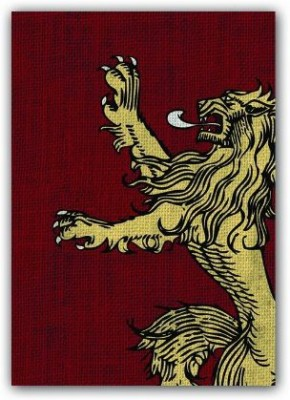 Fantasy Flight Games Of Thrones Hbo Art Sleeves House Lannister (Pack Of 50