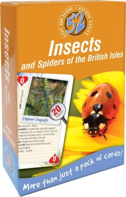 That Company Called IF 52 Ways Nature Series Playing Cards - Insects and Spiders