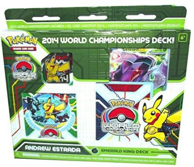 Sweet Deal 2014 Pokemon World Championship Deck Andew Estrada