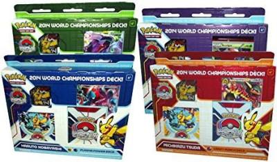 Pokemon 2014 World Championships Random Deck The Company