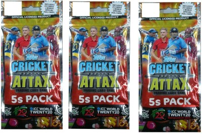 Topps Cricket Attax T20 Multipack Combo(3pkt)