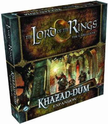 Fantasy Flight Games Lord Of The Rings Lcg Khazaddum Expansion
