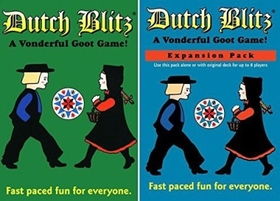 Dutch Blitz Original And Expansion Pack Set