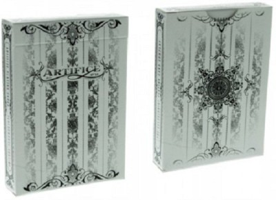 Ellusionist Artifice v2 Playing Cards Tundra (WHITE) Deck