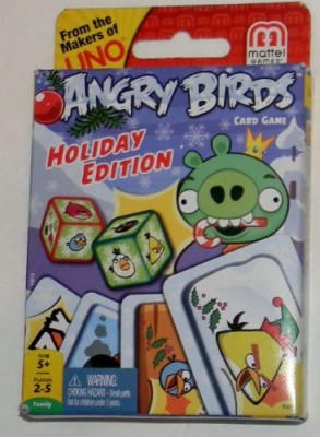Rovio Angry Birds Holiday Edition From The Makers Of Uno