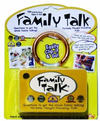 Around the Table Games Family Talk