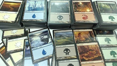 Magic: the Gathering 500 Basic Lands 100 Of Each Land Type