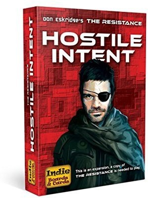 Indie Boards & Cards Resistance Hostile Intent