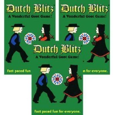 Dutch Blitz 3 Pack (Biblecompany)