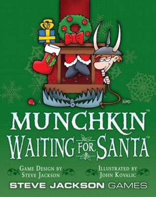 STEVE JACKSON GAMES INC. Munchkin Waiting For Santa