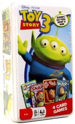 Disney Pixar Story 3 Tin Of 4