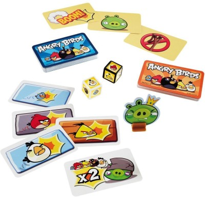 Mattel Travel Card Games Angry Birds