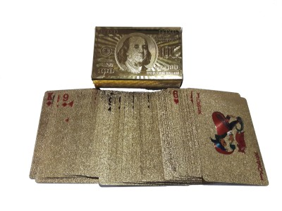 VEENA Golden Playing Cards