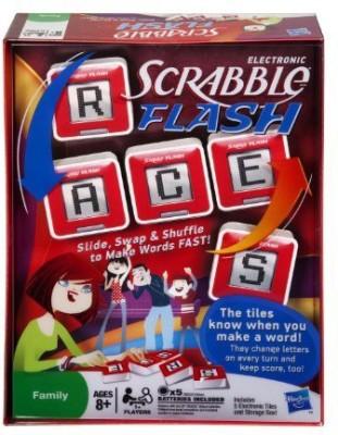 Scrabble Flash Cubes Value Pack Includes Slam