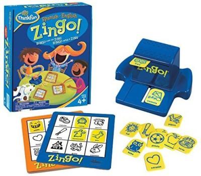 Think Fun Thinkfun Bilingual Zingo Spanish