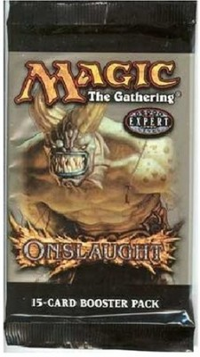 Wizards of the Coast Wizard Of The Coast Magic The Gathering Onslaught Booster