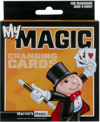 Hamleys Marvins Magic Changing Cards