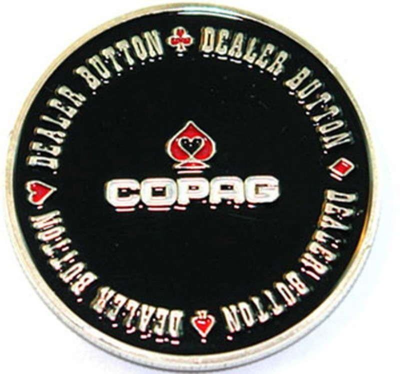 Casinoite Copaq Dealer Button(Multicolor)