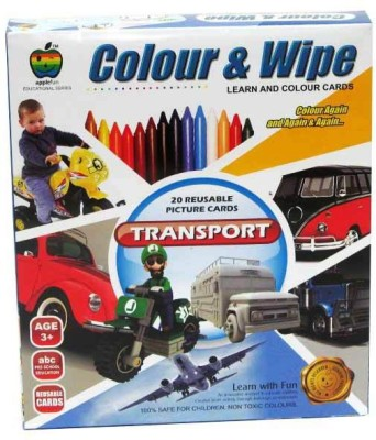 Lotus Apple Fun Colour & Wipe Transport