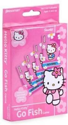 Sanrio Pressman Hello Kitty Go Fish
