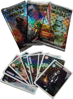 Switch Control Star Wars Shinning cards ( 10 packs)