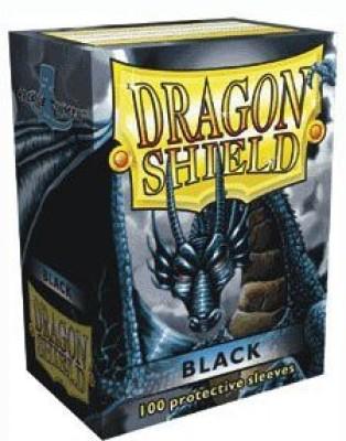 Dragon Shields Dragon Shield Black Standard 100 Sleeves