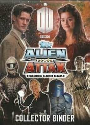 Dr. Who Topps Alien Attax Trading Starter Pack