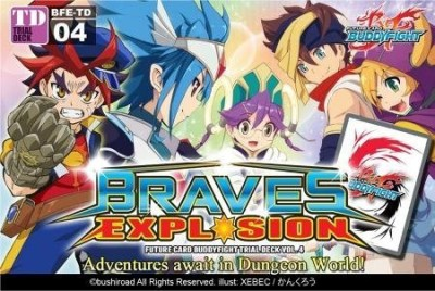 Future Card Buddy Fight Future Buddyfight Bfetd04 Braves Explosion Trial Deck