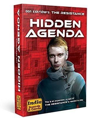Indie Boards & Cards Resistance Hidden Agenda