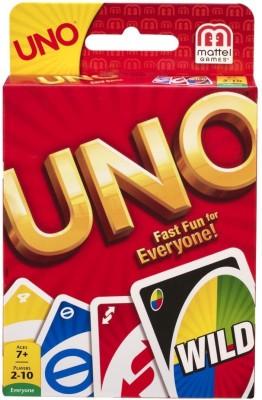 Mattel Games Uno Cards