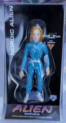 Alien series Nordic Alien With Collectible Trading Set 6