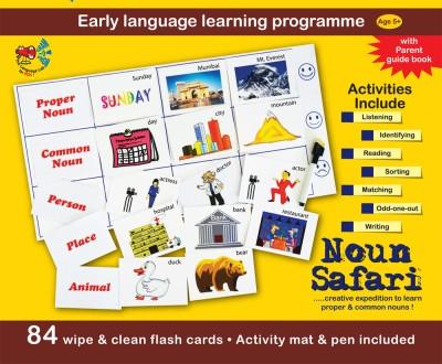 Gram-O-Phon Noun Safari Card Game
