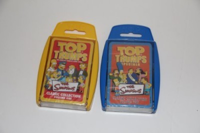 Top Trumps Simpsons 2 Pack Volume 1 And 2
