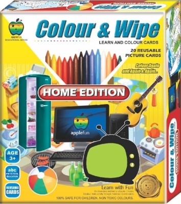 Apple Fun Colour & Wipe Home Edition Jr.