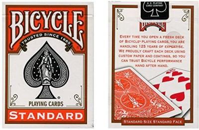 U.S. Playing Card Company Mmsbicycle Orange Back Uspcc Trick