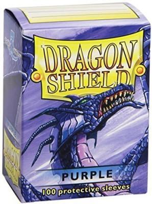Dragon Shields Dragon Shield 100 Sleeves Purple