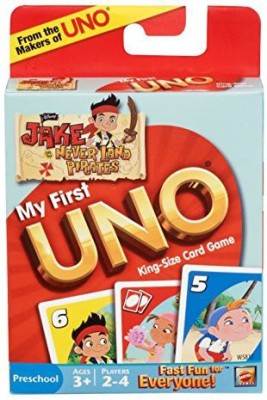 Mega Bloks My First Uno Disney,S Jake And Never Land Pirates Edition