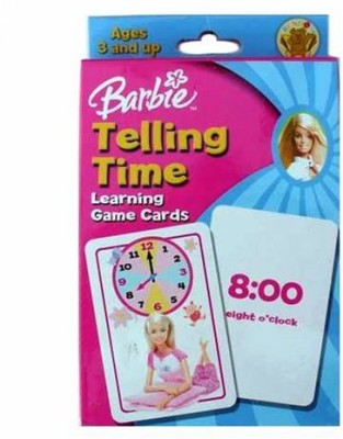 Mattel Barbie Telling Time Learning