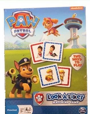 Nickelodeon 1 X Paw Patrol Lookalikes Matching