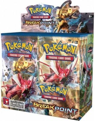 Switch Control Pokemon cards Break Point Booster Box