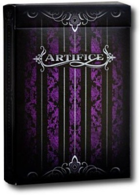 Ellusionist Artifice V2 Purple Playing Cards
