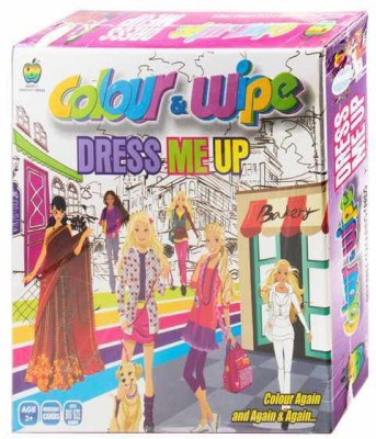 Lotus Apple Fun Colour & Wipe Dress Me Up