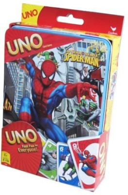 Cardinal Industries Spiderman Uno Tin