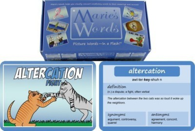 Marie's Words Sat Vocabulary Flash