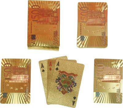 BS Spy Gold Cards 500 Euro DS Duplex Centered Board