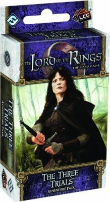 Fantasy Flight Games Lord Of The Rings Lcg The Three Trials Adventure Pack